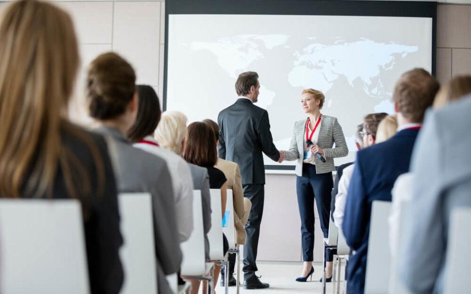 Relacionamento com clientes em eventos